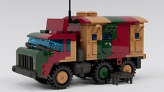 Kaz-60 communications (ABS doohickies) Tags: lego ldd render military truck transnistria dc6