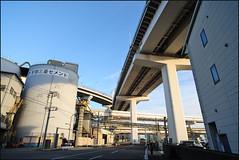 Japan : Day 3 of 23 : 24 Dec 2016 (Rey.M) Tags: tokyo japan rainbowbridge tokyorainbowbridge lowlight