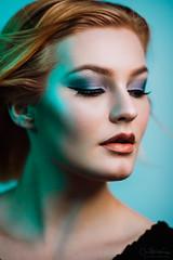 Janina (CeeTeeKoo) Tags: beauty beautyshoot woman girl studio gels color closeup