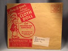 Kellogg's Rice Krispies Cloth Doll 1 Package Front (toyfun4u) Tags: kelloggs cereal rice krispies