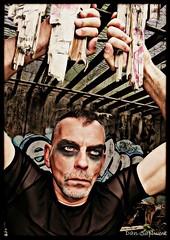 Dan Saplume (Phoenix Blue Parangon) Tags: urbex surréaliste démon devil masculin mâle man