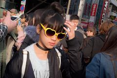 黄 (Stéphane.) Tags: japonais langue kanji street streetphotography girl young kid yellow jaune lunette harajuku tokyo japan japon streetsnaps snaps rue photosderue 黄色 黄 日本語
