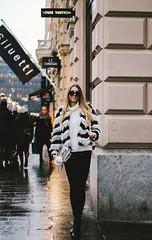 L2 (Sofia Hendrén) Tags: fashion helsinki girl woman louisvuitton finland portrait outfit blur street fur