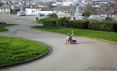 Sturu Cornish carpark surfing (leonsayer) Tags: skateboarding skate longboarding sliding downhill landscape cityscape