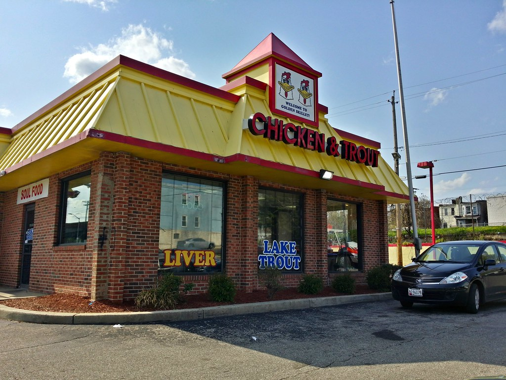 The world 39 s best photos of kfc and sign flickr hive mind for Fish store baltimore