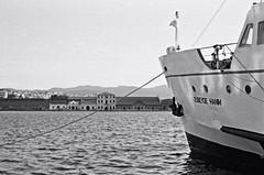 zübeyde hanım vapuru v.2 (Kağan Şeker) Tags: street camera film 35mm photography 400 pan analogue ilford izmir ferryboat pasaport hanım iskelesi zübeyde vapuru