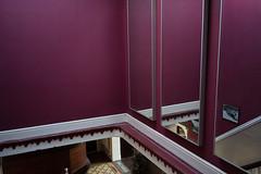 Rothko near Runcorn (Several seconds) Tags: old green breakfast hotel purple cheshire worn past betterdays glamrock runcorn glorydays olddecisionslivelong