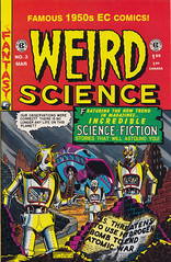 Weird Science 03 (micky the pixel) Tags: sf comics robot comic scifi sciencefiction erde heft roboter zerstörung atomkrieg weirdscience atomicwar eccomics williammgaines destructionoftheearth russcochran