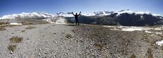 Atop Parker Ridge (AmandaMT) Tags: sky mountain snow nature nationalpark cool jasper hiking panoramic alberta parkerridge
