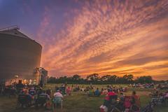 Texas sunset over open-air concert (ProNostalgia75) Tags: texas sunsets austintexas hillcountry