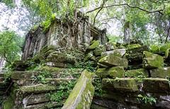 The Jungle-like ruin of Beng Mealea in Cambodia-19 (John Shedrick) Tags: asia cambodia angkor siemreap ruins temples historic unesco khmer hindu sonya6000 sel1018f4lens bengmealea junglelike vines unrestored