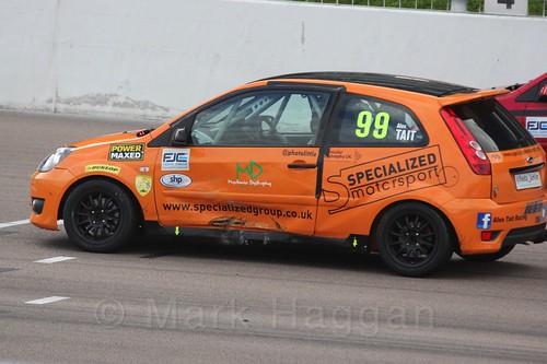 Alexander Tait in Race 2, Fiesta Junior Championship, Rockingham, Sept 2015
