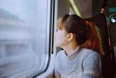 Reflecting ① (Rob₊Lee) Tags: travel portrait rome train florence f14 voigtlander bessa 40mm nokton nokton40mm r3m voigtlanderbessar3m