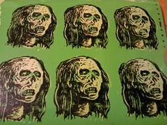 (andres musta) Tags: zas zombieartsquad zombie sticker stickerart andres musta art squad stickers adhesive