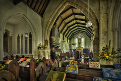 All Saints' Church, Calbourne (Elm Studio) Tags: uk flowers england copyright candles altar holy organ isleofwight gb historical morgan pews lectern hdr tse stainedglasswindows copyrighted gbr allsaintschurch photomatix jeffmorgan tiltshiftlens calbourne 13xp elmstudio triggertrap jeffelmstudiocom wwwelmstudiocom 4407542933700