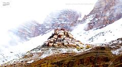Key Monastery (Ayan.Photography) Tags: travel snow key buddhist monastery spiti tibetian gompa himachalpradesh kye spitivalley greatphotographers lahaul kyemonastery keymonastery nikonflickraward