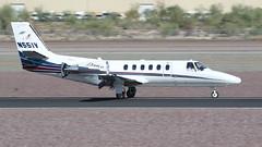 Cessna 550 Citation Bravo N551V (ChrisK48) Tags: airplane aircraft 1998 dvt phoenixaz kdvt cessna550 citationbravo phoenixdeervalleyairport n551v