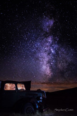 Bodie Truck and Milky Way (stephencurtin) Tags: california light sky truck way dramatic bodie milky thechallengefactory
