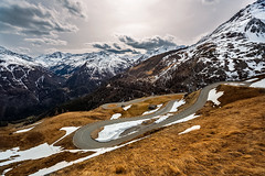 Grossglockner High Alpine Road, Austria. (cookiesound) Tags: road travel schnee winter inspiration snow alps fall canon austria tirol spring roadtrip krnten carinthia serpentinen serpentines tyrol grossglockner travelphotography heiligenblut grossglocknerhighalpineroad travelphotographer austrianlandscape hochalpenstrase cookiesound nisamaier ullimaier austrianalp