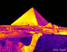 Giza pyramid thermal image (Ultrapurple) Tags: thermal thermalimage thermalimager heat android experiment experimental hot invisible lowres lwir microbolometer infrared thermalcamera thermapp thermogram thermograph thermographic warm warmth science scientific temperature weird weirdscience cool cold nightvision grey scale falsecolor falsecolour 8bit uncooled imager pyramid giza camel egypt cheops khufu sphinx greyscale