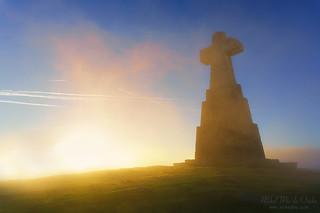 cross in Saibi mountain