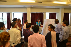 Bihar workshop group session (International Livestock Research Institute) Tags: india workshop southasia bihar smallholder crp37 dairyvaluechain