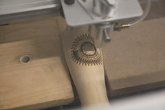 Tap Handles (HackRVA) Tags: drillpress lasercutter cncrouter