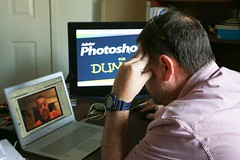 My feelings about my skill level in Photoshop. (Steve Glasgow) Tags: dummies frustration photoj photoshopfordummies