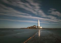 St Mary's lighthouse (loftylion9) Tags: storm sunrise gales northumberland bamburgh holyisland lindisfarne stmarys blyth amble stmaryslighthouse dunstanburghcastle embleton coquetisland blythbeach lowhauxley bambirghcastle