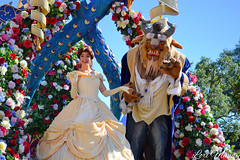Festival of Fantasy (disneylori) Tags: mainstreet princess disney parade disneyworld belle beast characters wdw waltdisneyworld magickingdom beautyandthebeast townsquare mainstreetusa disneyprincess disneycharacters disneyparade disneyworldparade facecharacters waltdisneyworldparade festivaloffantasyparade