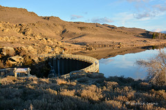 Butchers Dam, Central Otago (flyingkiwigirl) Tags: flat dam hill central conservation area otago butchers