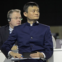 Jack Ma, Alibaba by UNclimatechange, on Flickr