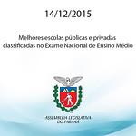 Assembleia sedia entrega de certificados a melhores escolas do ENEM