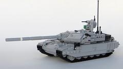 T-90MS (Tomcat Bobcat) Tags: t gun tank lego suspension russia main machine battle t90 soviet medium russian 90 turret brickarms