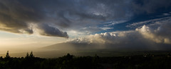 Valley Rains (ArneKaiser) Tags: sky panorama weather clouds landscape hawaii unitedstates maui cloudscape kula smcpentaxda1645mmf4edal mauicollection