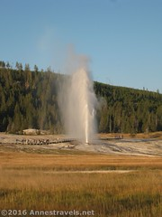 Beehive Geyser (Annes Travels) Tags: yellowstone wyoming uppergeyserbasin geysers geothermal