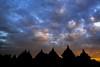 Waning Sunset (Trent's Pics) Tags: clouds sunset indonesia centraljava prambanan prambanandistrict ruins temple plaosan candiplaosan lastlight