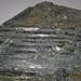 Fault slickensides (Biwabik Iron-Formation, Paleoproterozoic, ~1.878 Ga; Thunderbird Mine, Mesabi Iron Range, Minnesota, USA) 2