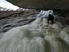 Cobra Attempt: In the Chimney (Dru!) Tags: sam climbing mwo mtwaddingtonsoutdoors fraservalley ice iceclimb iceclimber iceclimbing
