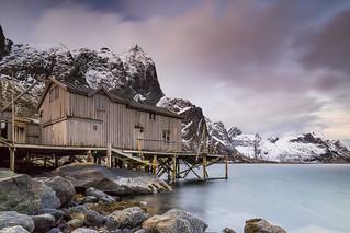 A beautiful morning, Reine, Lofoten