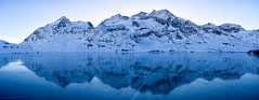 Black Ice Pano (Marcel Cavelti) Tags: schwarzeislagobiancopano schwarzeis lago bianco lagobianco winter alps panorama ice lake berninapass reflection snow mountain landscape serene blue explore