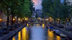 42-26855788 (MetaBroadcast) Tags: twilight netherlands bridge city capitalcity evening canal tree dusk nationalcapital travel urbanscene night archbridge scenic amsterdam benelux westerneurope europe nobody