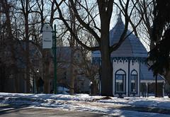 DSC_0133a (Fransois) Tags: parc park hiver winter matin morning terrebonne québec rue street contrejour backlight parcmasson quiet douceur softness