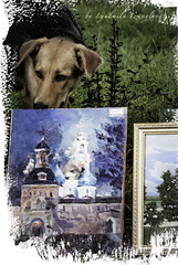 best picture (Lyutik966) Tags: dog animal eyes ears picture image sergievposad trinitysergiuslavra russia art