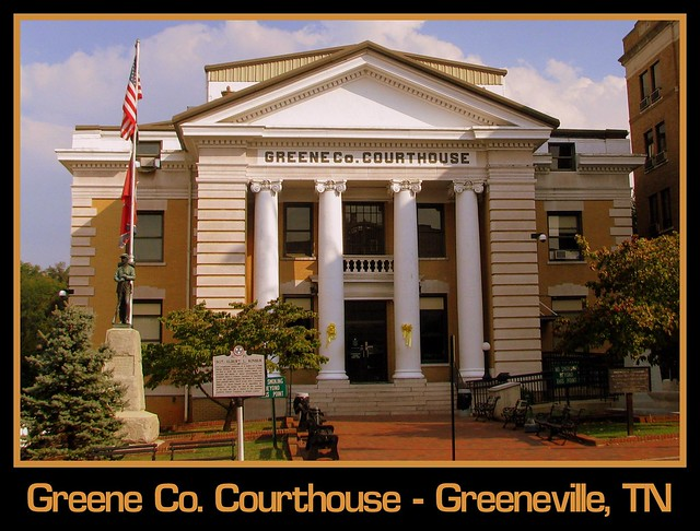 For Sale: TN Courthouse Postcard Collection: Greene