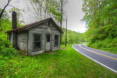 Old Building by the Roadside (esywlkr) Tags: nc wnc northcarolina structure roadside mitchellcounty explore