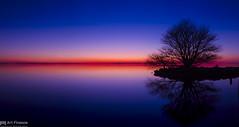 Twilight Gradation (Art Fiveone) Tags: lake kasumigaura ibaraki japan sunset twilight panorama mtfuji silhouette reflection sky 行方 霞ヶ浦 茨城 日本 夕暮れ 黄昏 夕焼け 夜景 空 パノラマ 富士山 nightshot nightview sonygmaster namegata