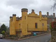 The Castle (nz_willowherb) Tags: scotland fife newportontay castle yellowcastle castleroad rent appartments
