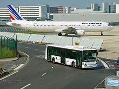 Irisbus Citelis 12 - Air France (Aeropass 92827) (Pi Eye) Tags: bus autobus roissy cdg aéroport adp parisaéroport aeropass transdev airfrance irisbus iveco citelis citelis12