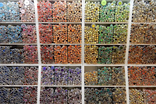 Colourful world of buttons